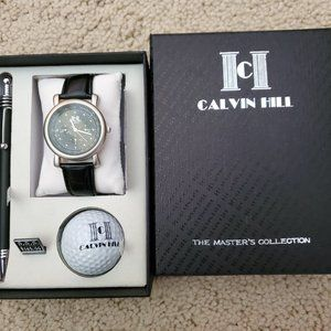 Calvin Hill gift set (watch/golf ball/pen)
